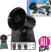 ALL RIDE 12V Siren With Microphone Function