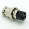 3 Pin Microphone Plug (Female)
