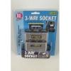 ALL RIDE 3 Way 12/24V Cig Socket + Switches & Hella Type Plug