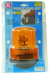 ALL RIDE Revolving Amber Warning Light (Magnetic) 12V