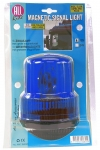 ALL RIDE Revolving Blue Warning Light (Magnetic) 12V
