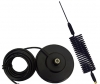 Mini Springer Mobile CB Antenna Plus AM-1035 Mag Mount