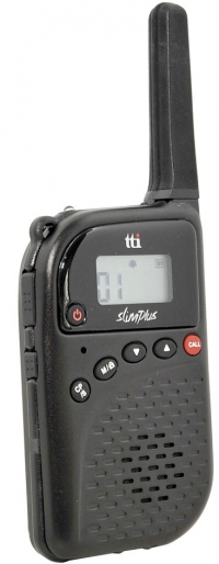 TTI PMR-506MH Super Slim PMR446 Radio + Helmet Mic Kit