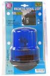 ALL RIDE Revolving Blue Warning Light (Magnetic) 12V